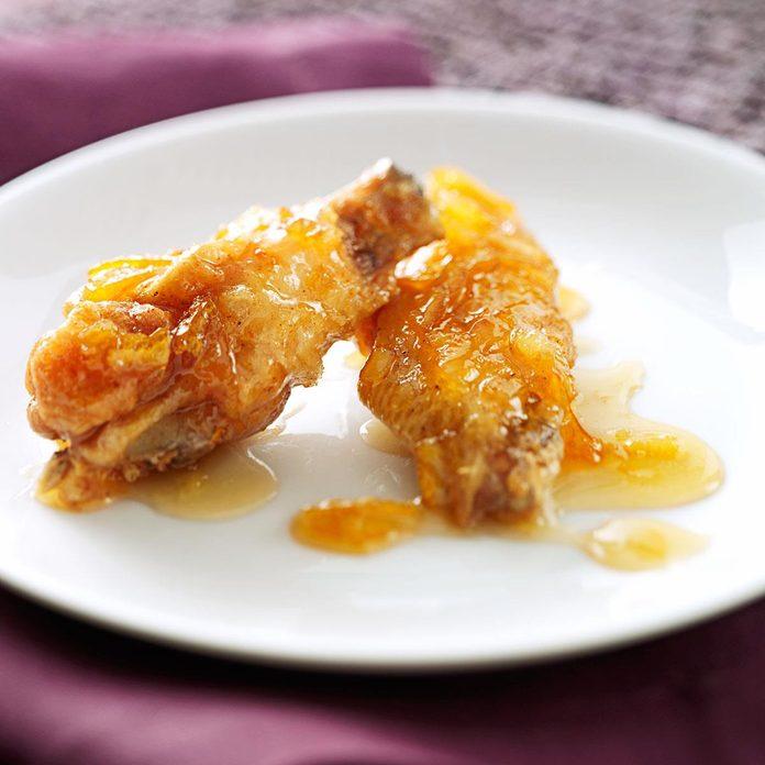Marmalade-Glazed Chicken Wings