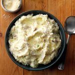Mashed Potatoes with Garlic-Olive Oil