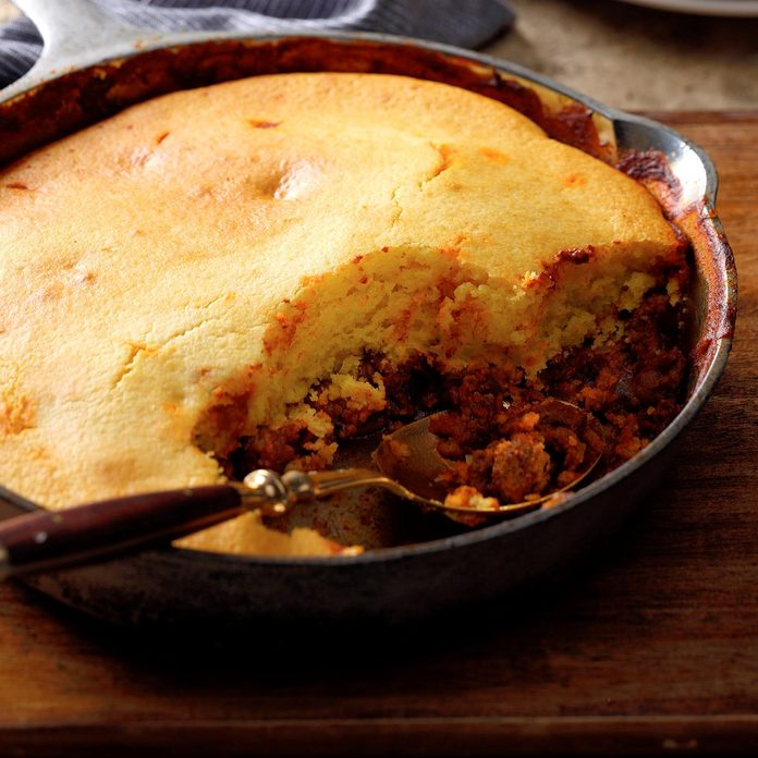 Meat 'n' Pepper Cornbread