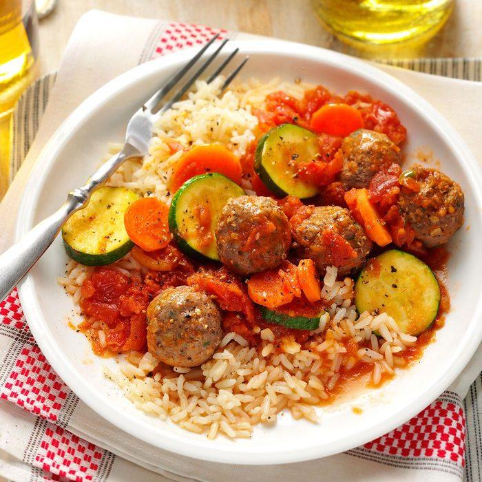 Meatball Skillet Meal