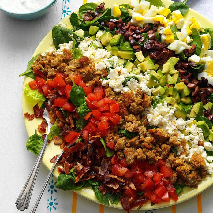 Tuesday's Lunch: Mediterranean Cobb Salad