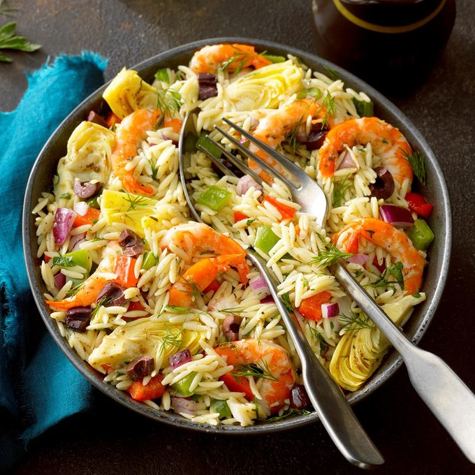 Mediterranean Shrimp Orzo Salad Exps Tohmme19 195402 E07 26 3b 6