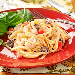 Mediterranean Tuna Linguine