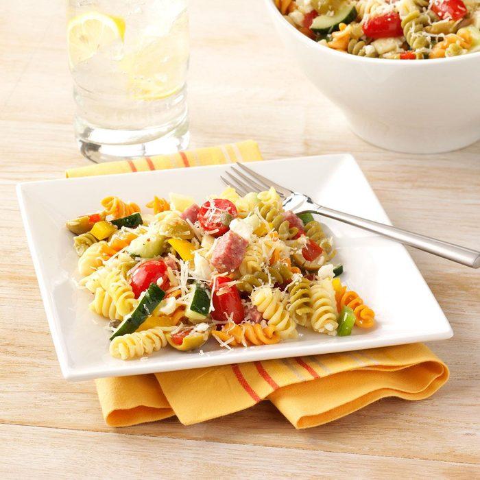 Mediterranean Vegetable Pasta Salad