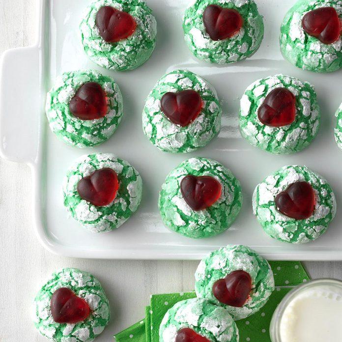 Merry Grinchmas Cookies