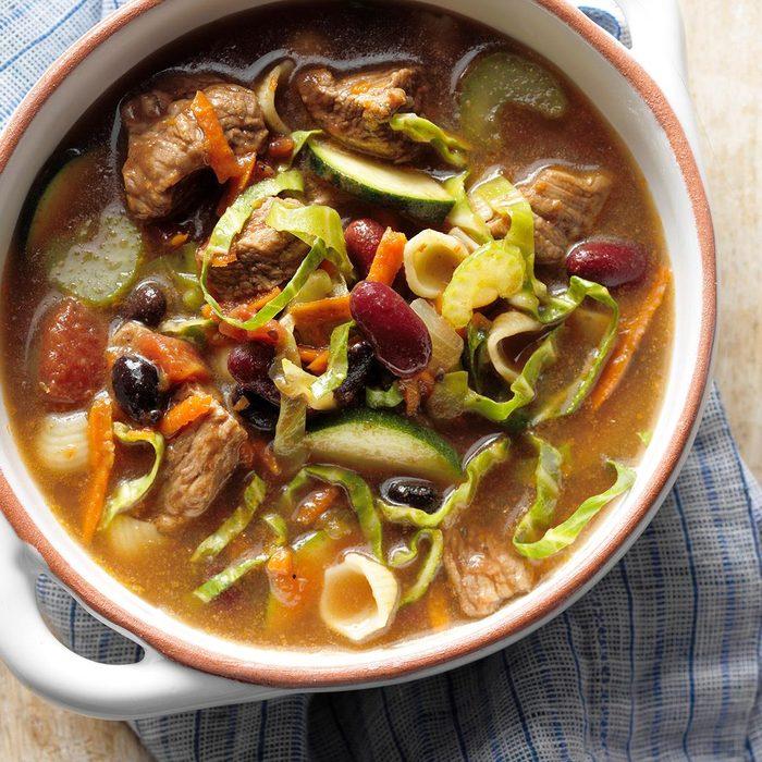 Mexi-Stroni Soup