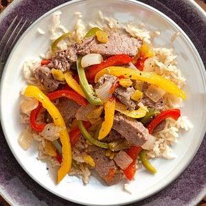 Mexican Fiesta Steak Stir-Fry