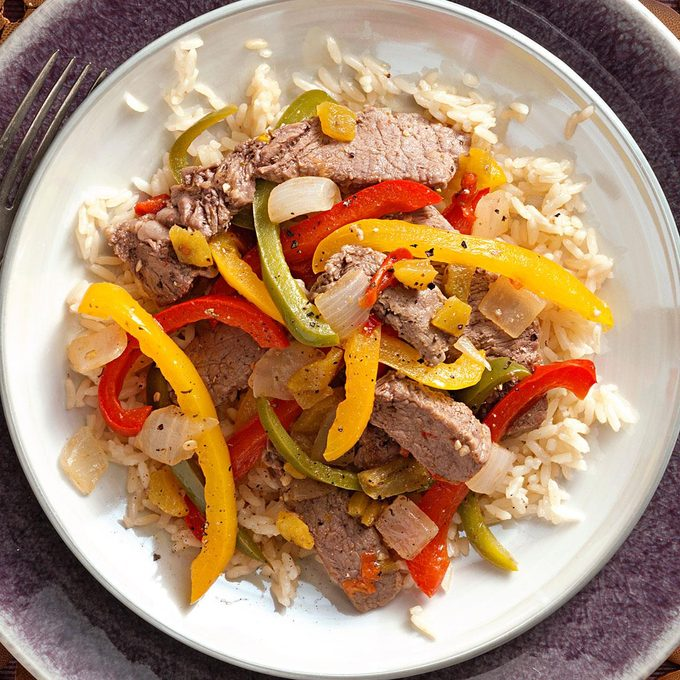 Mexican Fiesta Steak Stir-Fry