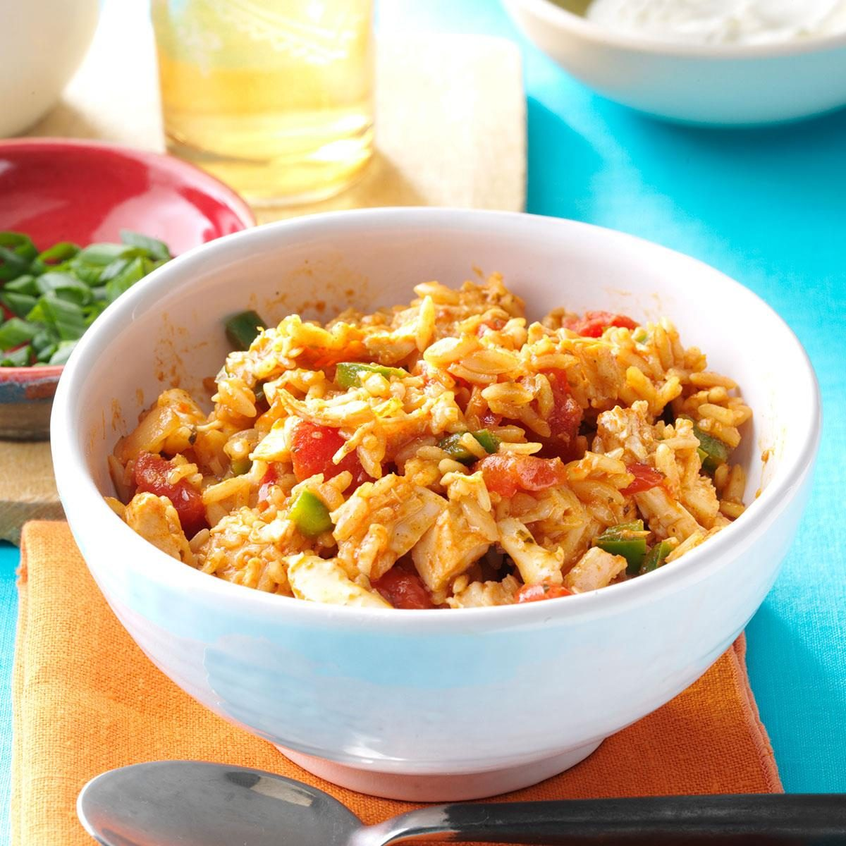 Tuesday: Mexican Rice with Chicken