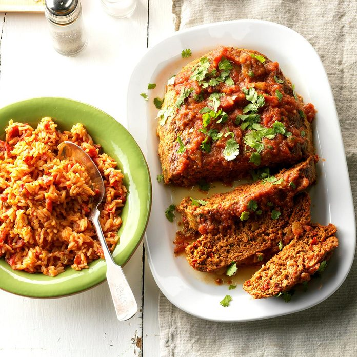 Day 7: Mexican Turkey Meat Loaf