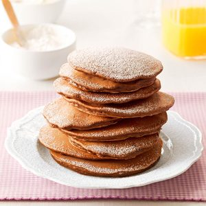 Mini-Chip Cocoa Pancakes