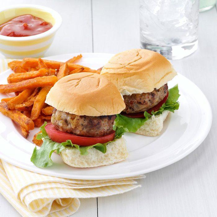 Mini Hawaiian Burgers
