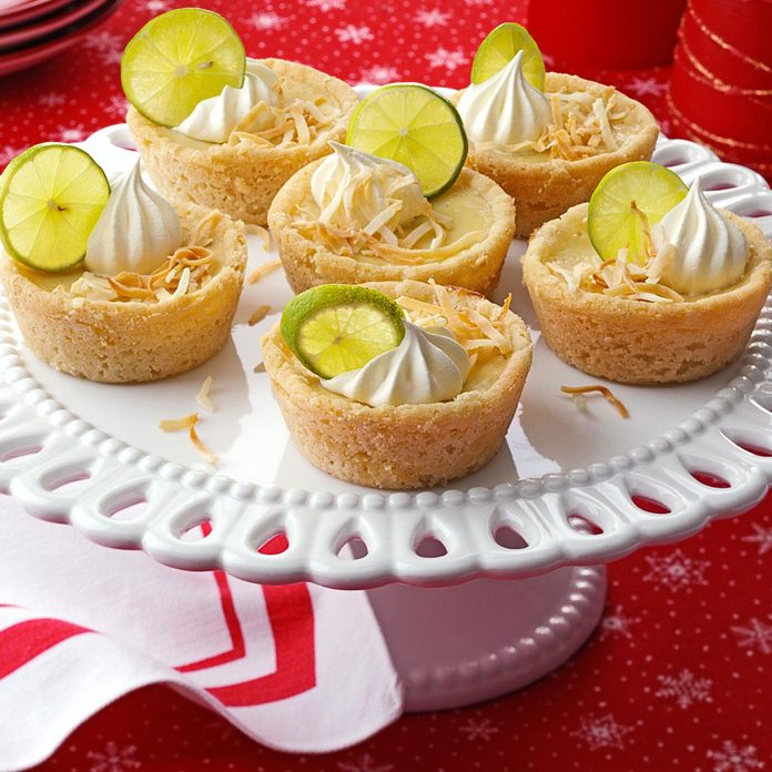 Mini Key Lime and Coconut Pies