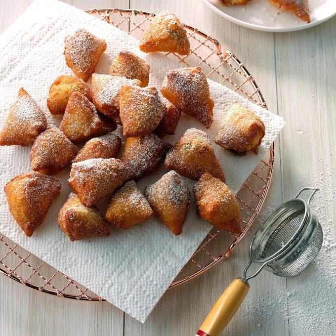 Mini Nutella Doughnuts