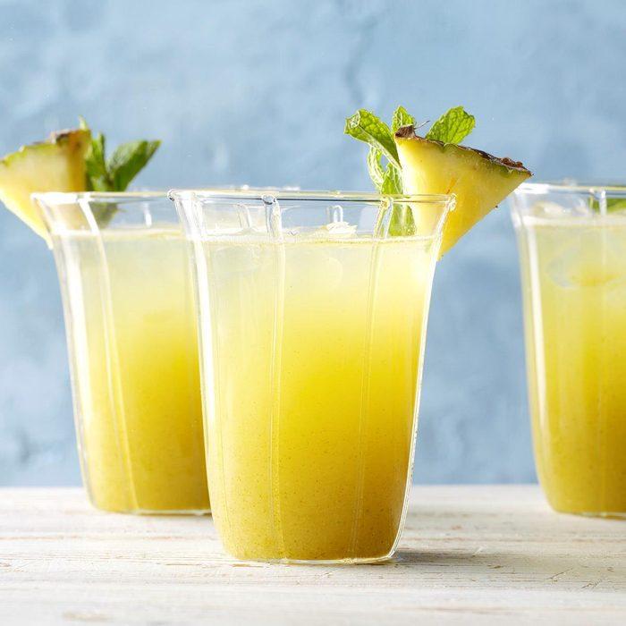 Minty Pineapple Rum