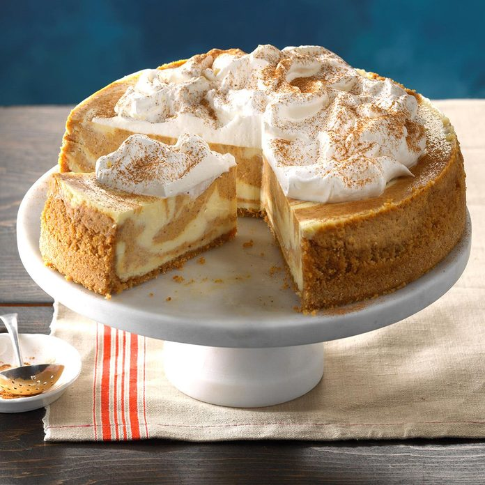 October 21: National Pumpkin Cheesecake Day