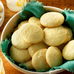 Mom's Lemon Sugar Cookies