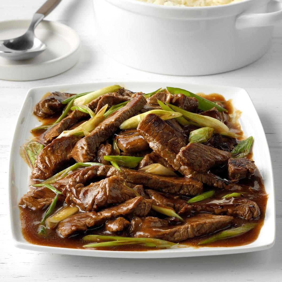 Inspired by: P.F. Chang's Mongolian Beef