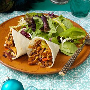 Moo Shu Chicken Cones