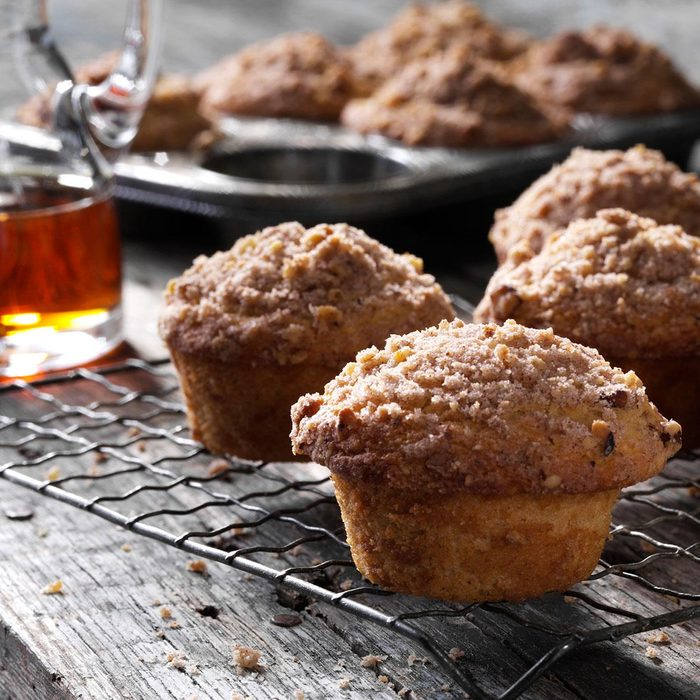 Morning Maple Muffins