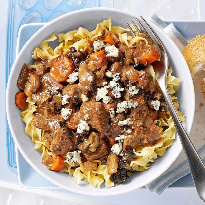 Mushroom Beef Stew