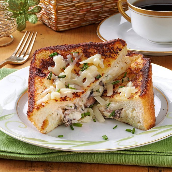 Mushroom-Herb Stuffed French Toast