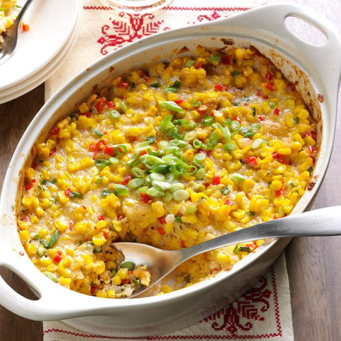 New Orleans-Style Scalloped Corn