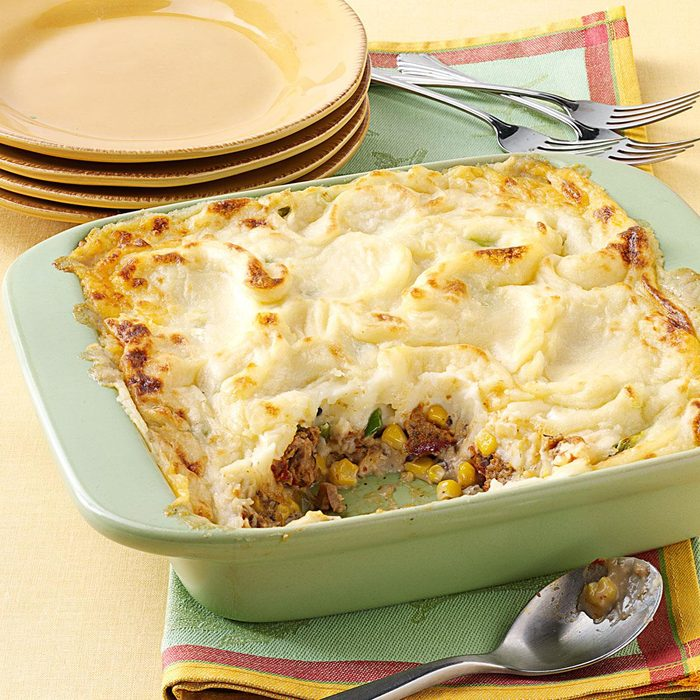 Next Day Meat Loaf Pie