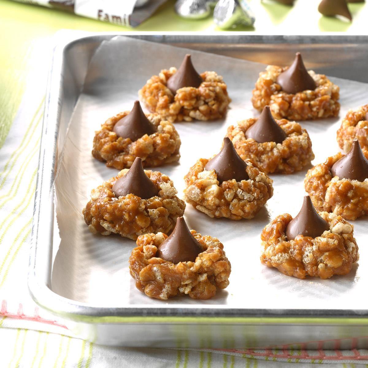 Beginner Baker: No-Bake Cookie Butter Blossoms