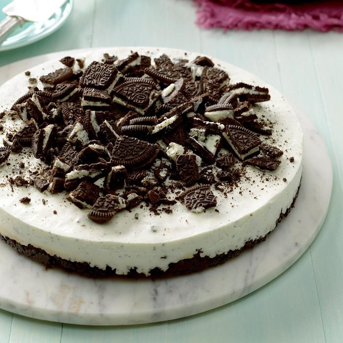 Inspired by: Oreo Cookie Cheesecake
