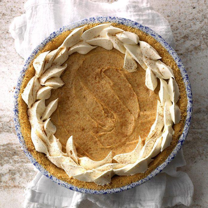 No-Bake Pumpkin Cheesecake