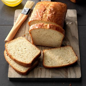 No-Knead Honey Oatmeal Bread