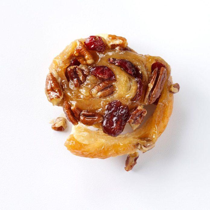 Nutty Cranberry Sticky Buns