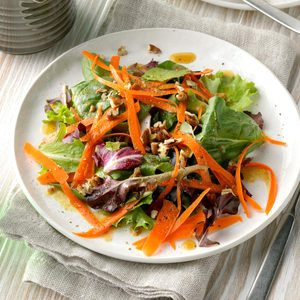 Nutty Green Salad