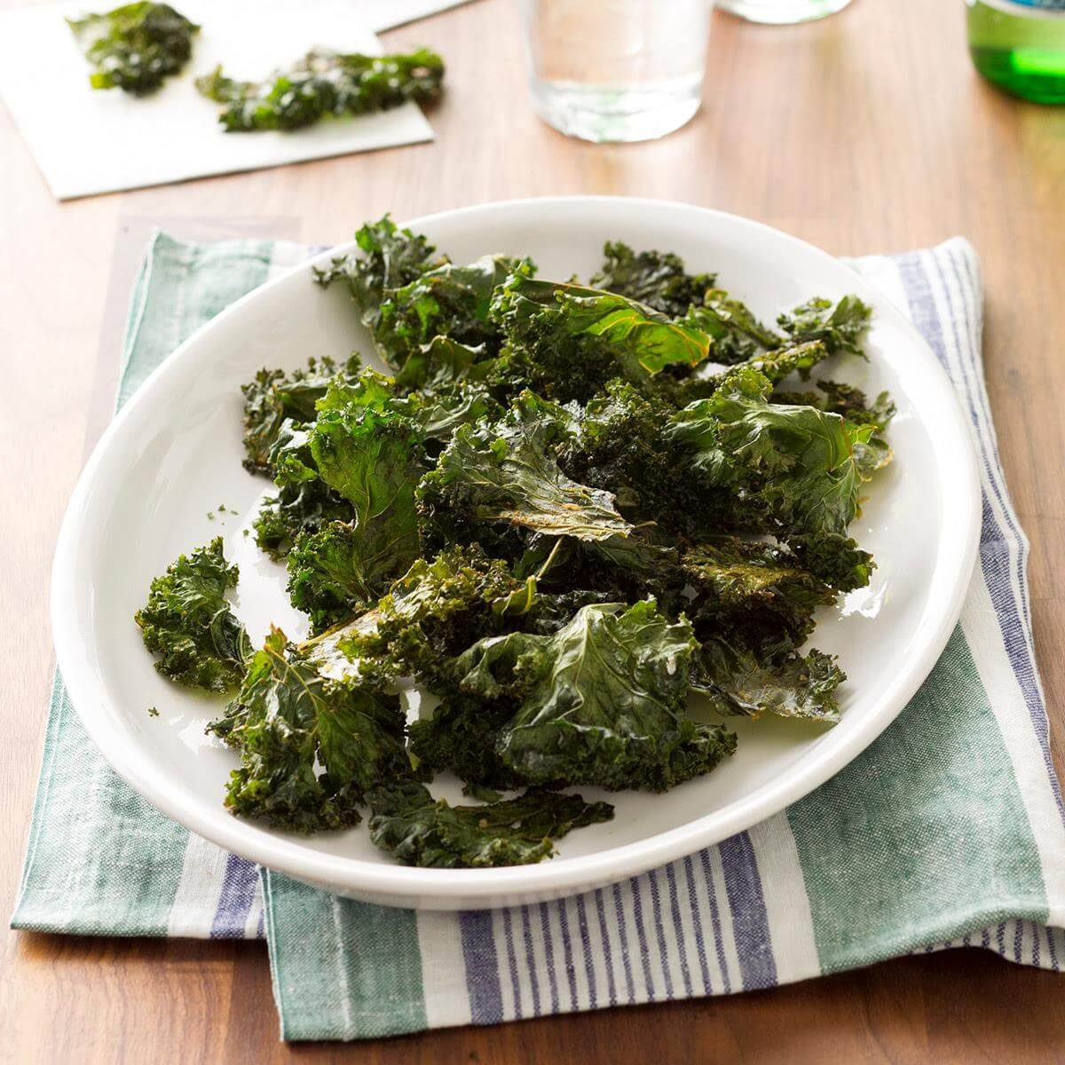 how to cook kale, kale chips