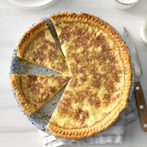 Old-Fashioned Custard Pie