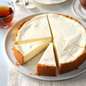 Old-World Ricotta Cheesecake