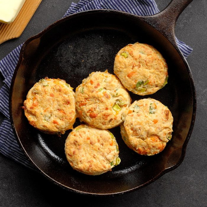 Onion & Cheddar Biscuits