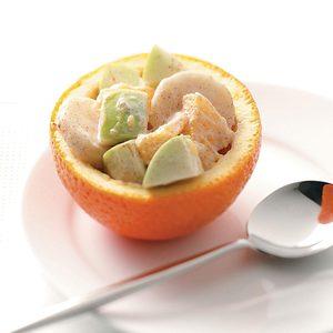 Orange Fruit Cups