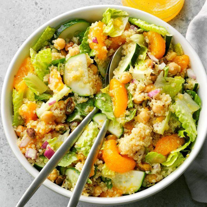 Orange-Pistachio Quinoa Salad