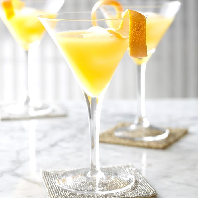Orange Razzletini Cocktails