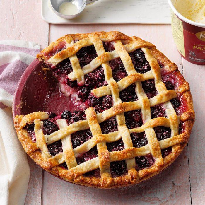 Oregon's Best Marionberry Pie
