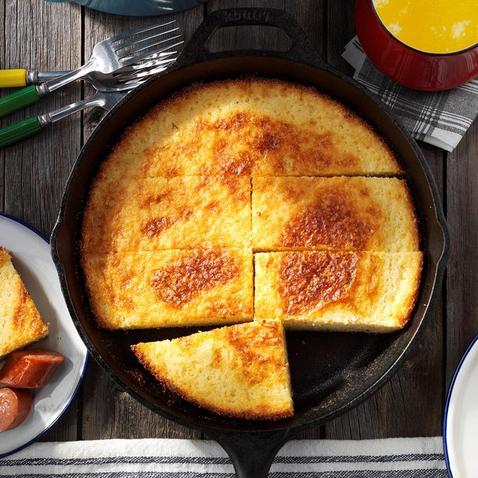 Oven-Fried Cornbread