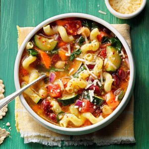 Over-the-Rainbow Minestrone