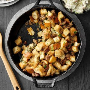 Oyster Sausage Stuffing