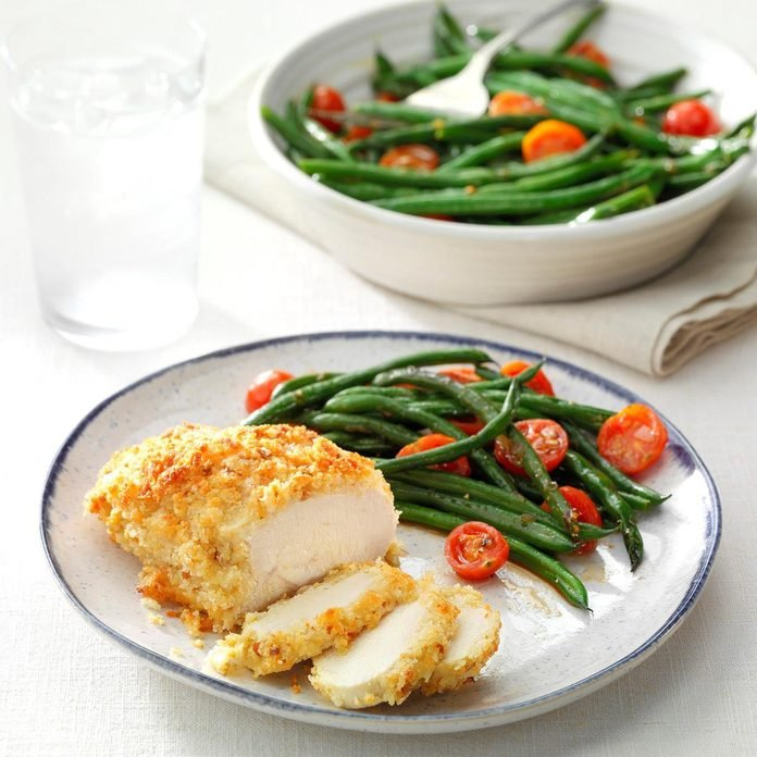 Inspired by: Parmesan Crusted Chicken