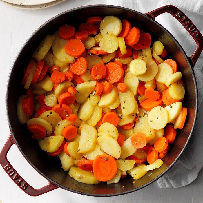Parsnip-Carrot Medley