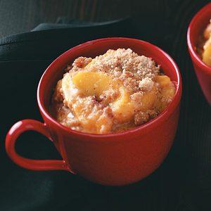 Peach Almond Crisp