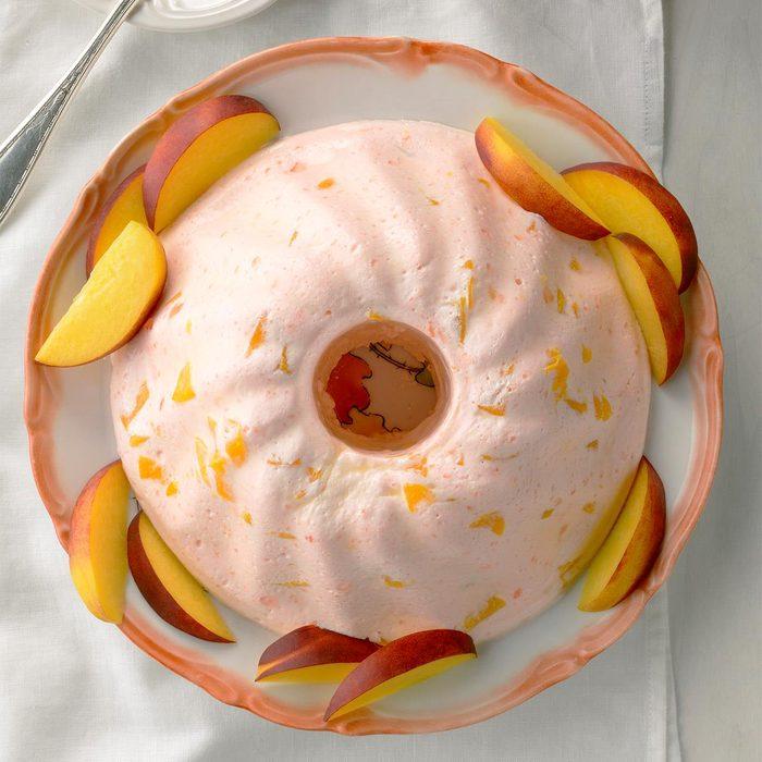 Peach Bavarian
