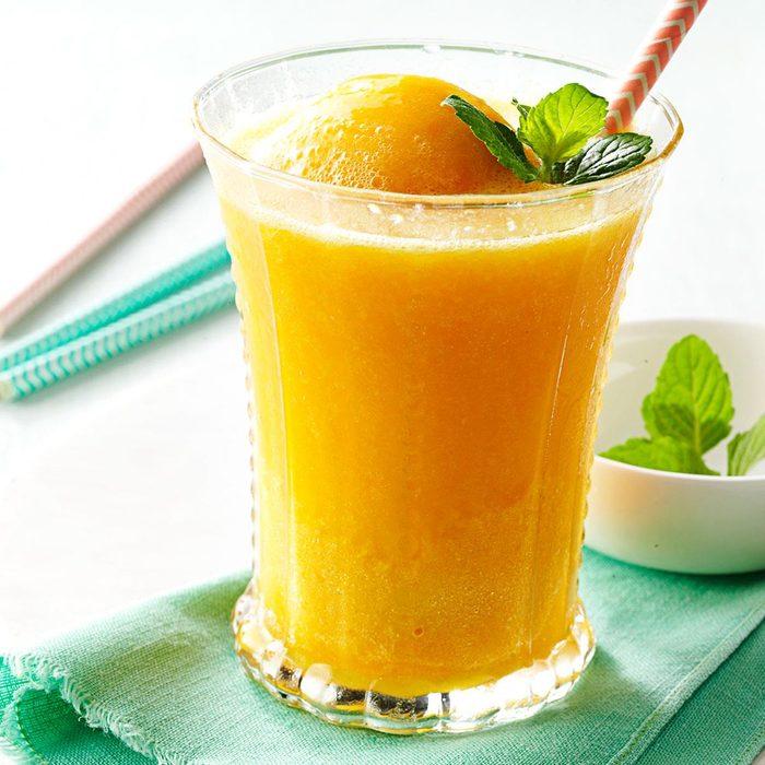 Peach Breakfast Slush
